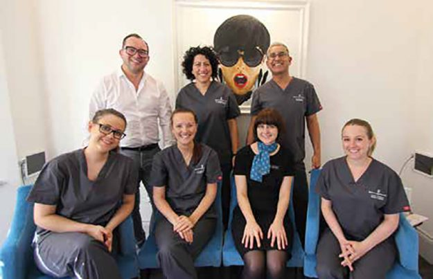 21 dental team