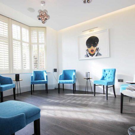 Twenty One Dental - Hove, waiting lounge